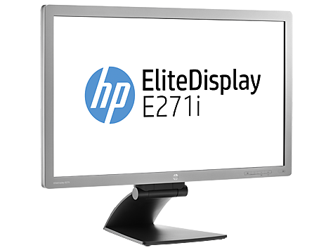 Hp Elitedisplay E271i De 27 Quot Monitor Con Backlit Led