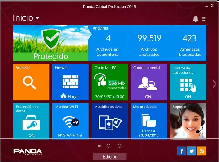 Panda Global Protection 2015 1 Dispositivo 1 A 241 O Hp